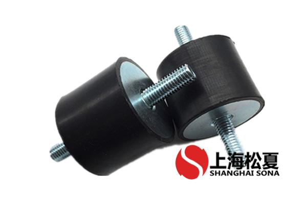 橡胶减震器有三种安装方式